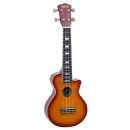 Mahalo Les Paul Style Ukulele in Cherry Sunburst Inc Bag